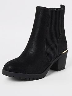 river-island-girls-ribbed-heel-boots-black