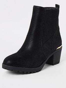 river-island-girls-ribbed-heel-boots-black