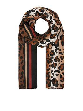 accessorize-brisha-border-leopard-print-scarf-multi