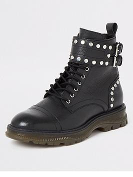 river-island-river-island-stud-lace-up-biker-boot-black