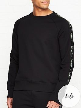 just-cavalli-tiger-tape-back-print-sweatshirt-black