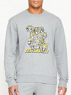 just-cavalli-tiger-print-sweatshirt-grey