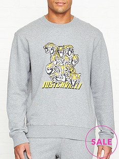 just-cavalli-tiger-print-sweatshirt-grey