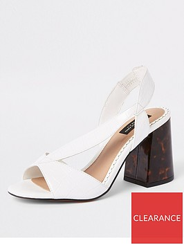 river-island-river-island-wide-fit-cross-strap-block-heel-sandals-white