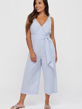 accessorize-tie-belt-beach-jumpsuit-blue