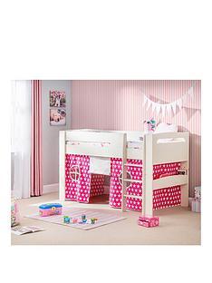 julian-bowen-nova-mid-sleeper-bed-with-pink-star-tent