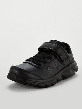 under-armour-assert-8-childrens-trainers-black