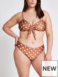 ri-plus-ri-plus-spot-print-knot-bandeau-bikini-top-brown