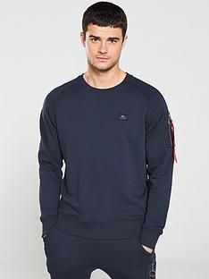 alpha-industries-x-fit-sweatshirt-navy