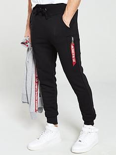 alpha-industries-x-fit-slim-cargo-joggers-black