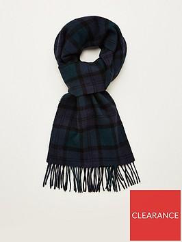 barbour-tartan-lambswool-scarf-black