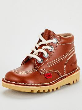 kickers-childrens-kick-hi-leather-boots-dark-tan