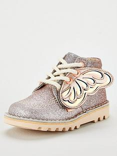 kickers-girls-faeries-glitter-boots-silverrose-gold