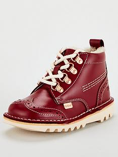 kickers-childrens-leather-hiker-boots-burgundy