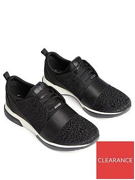 ted-baker-capela-leopard-jacquard-runner-trainers-black