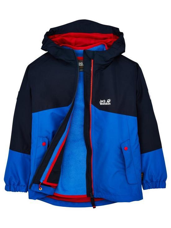 best website 78912 ac1ea Iceland 3-in-1 Jacket - Blue