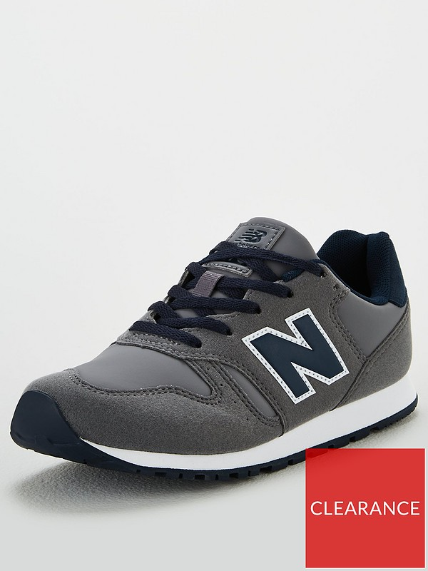 373 Youth Trainers - Grey/Navy