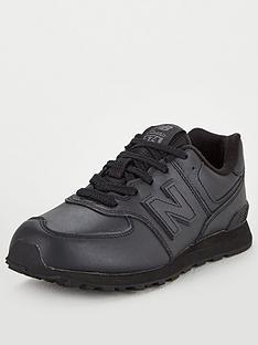 new-balance-574-junior-trainers-black