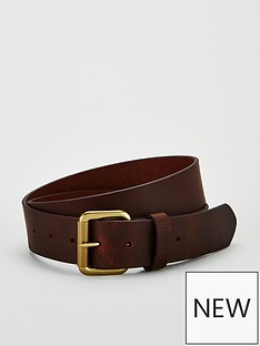 barbour-matt-leather-belt