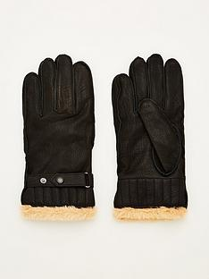barbour-leather-utility-gloves-black