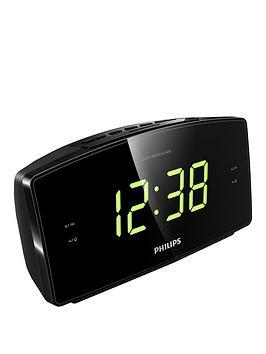 philips-aj3400-alarm-clock-radio-dual-alarm-fm-digital-tuner-compact-design-big-display
