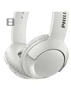 philips-bass-on-ear-wireless-bluetoothnbspheadphones-32mm-driver-flat-foldnbsplightweight-passive-noise-isolation-strong-bass