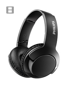 philips-bass-around-the-ear-wirelessnbspbluetoothnbspheadphones-40mm-driver-lightweight-compact-fold-passive-noise-isolation-strong-bass