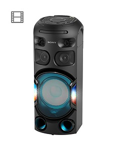 Sony Sony MHC-V42D, High Power Audio Bluetooth System with Multi Colour Lighting Effects