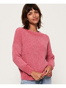 superdry-suzi-slouchy-knit-jumper-rose