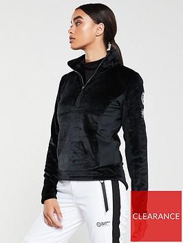 superdry-ski-storm-fleece-midlayer-half-zip-black