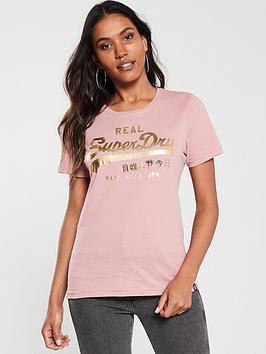 superdry-v-logo-metalwork-entry-t-shirt-rose