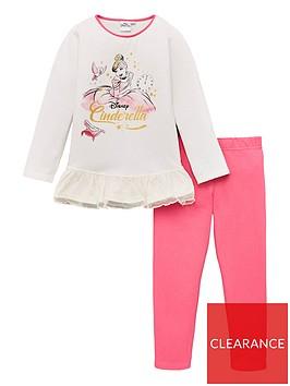 disney-princess-toddler-girls-cinderella-pyjamas-whitepink
