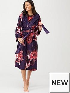 b-by-ted-baker-splendor-long-print-robe-purple
