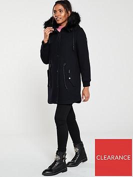 superdry-wool-longline-parka--nbsp-black