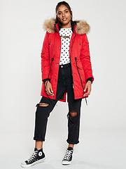 cheaper f849a 32ae6 Womens Superdry Coats | Superdry Jackets | Very.co.uk