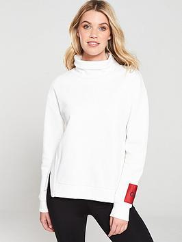 hugo-roll-neck-sweatshirt--nbsp-naturalcream