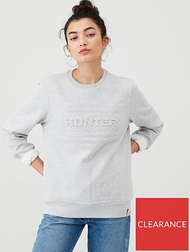 hunter-original-sweatshirt-grey-marl
