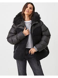 hunter-original-hero-hybrid-jacket-black