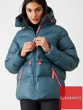hunter-original-a-line-padded-jacket-dark-teal