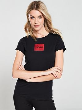 hugo-reverse-logo-patch-t-shirtnbsp--black