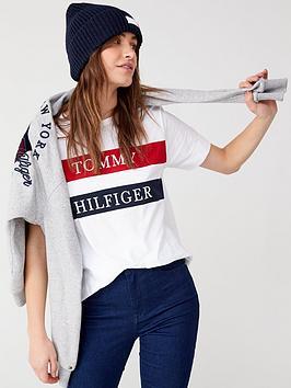 tommy-hilfiger-lula-crew-neck-t-shirt-white