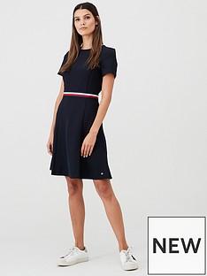 tommy-hilfiger-tommy-hilfiger-britt-short-sleeve-dress