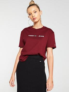 tommy-jeans-clean-flag-t-shirt-red