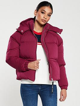 tommy-jeans-short-paddednbspjacket-red