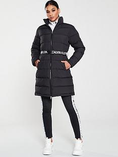 calvin-klein-jeans-long-padded-coat-with-waist-belt-black