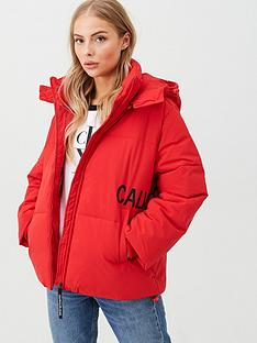 calvin-klein-jeans-oversized-logo-padded-jacket-red