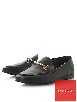 dune-london-guiltt-loafers-black