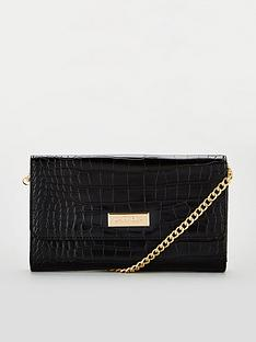 carvela-favour-chain-purse-black