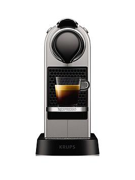Nespresso Nespresso By Krups Citiz Xn741B40 Pod Coffee Machine - Silver