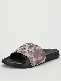 superdry-reflective-camo-pool-slides-grey